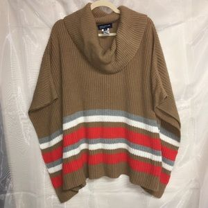 Jones New York sweater poncho